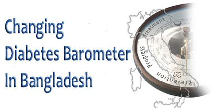 Changing Diabetes Barometer In Bangladesh