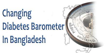 Changing Diabetes Barometer In Bangladesh