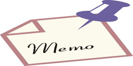 Memo Format for Marketing Persons