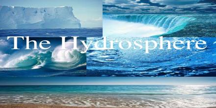 Presentation on Hydrosphere