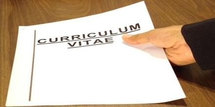 Curriculum Vita Format for English Teacher