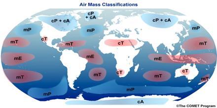 Discrete Air Masses