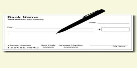 Application Format for New Cheque Book