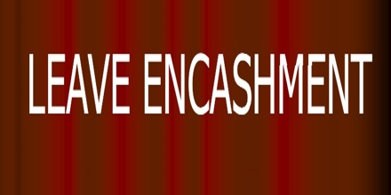 Application Format for Leaves Adjustment on Account of Leave Encashment