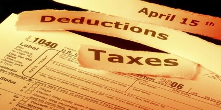 Sample Application for Tax Deduction