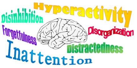 the two types of attention deficit disorder Types there are three different types of adhd, depending on which types of symptoms are strongest in the individual:.