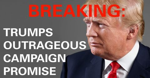 Donald Trump's Manifesto as President