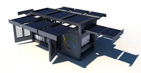 Ecosphere PowerCube Solar Generator