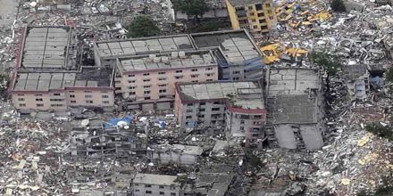 Strong earthquake sets buildings swaying in Indonesia
