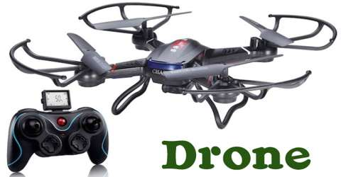 Drone: Any Unmanned Aircraft or Ship that is Guided Remotely