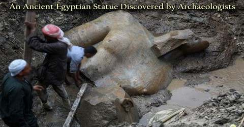 An Ancient Egyptian Statue Discovered by Archaeologists