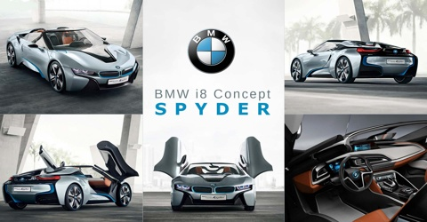 BMW i8 Spyder: Its Tech Is Undeniably Cool