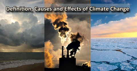 Definition, Causes and Effects of Climate Change