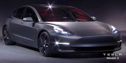 Review of Tesla Model 3: All-Electric Four-Door Compact