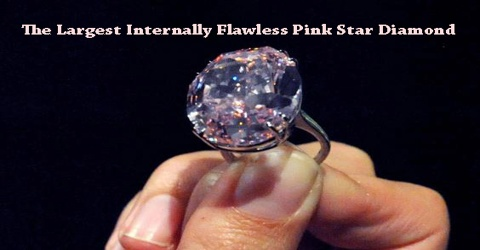 The Largest Internally Flawless Pink Star Diamond