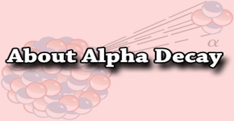 About Alpha Decay