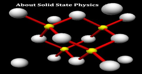 About Solid State Physics