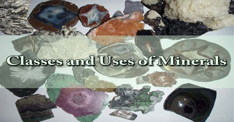 Classes and Uses of Minerals