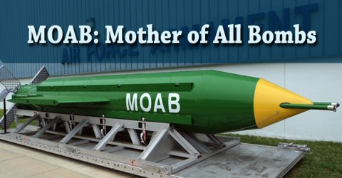 MOAB: Mother of All Bombs