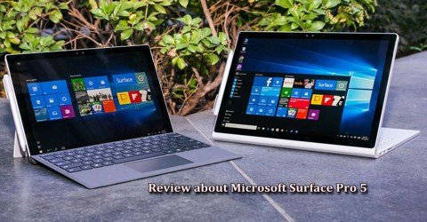 Review about Microsoft Surface Pro 5