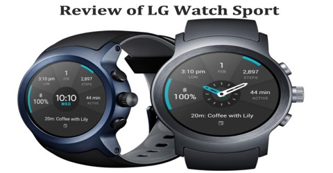 Review of LG Watch Sport