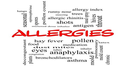 Types and Treatment of Allergy