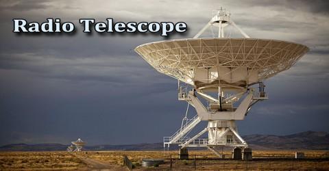 List of radio telescopes