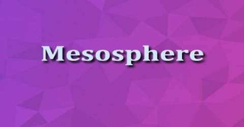 Mesosphere - Assignment Point
