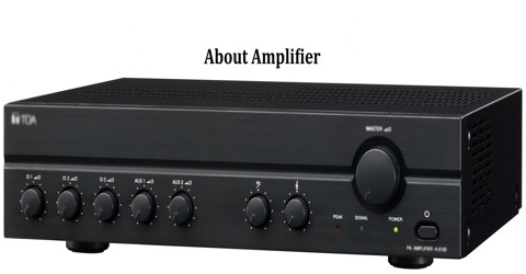 About Amplifier