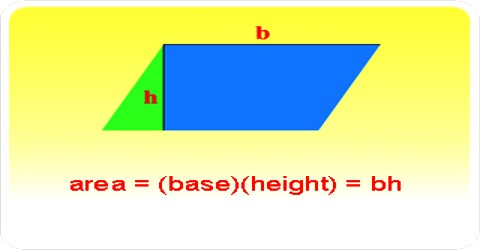 How to find the Area of a Parallelogram?