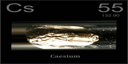 Caesium assignment point caesium is the alkali metal just below potassium on the periodic table it is the least electronegative element with a value of 079 on the pauling scale urtaz Choice Image