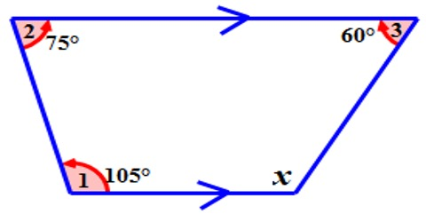 How to Find Fourth Angle of a Quadrilateral?