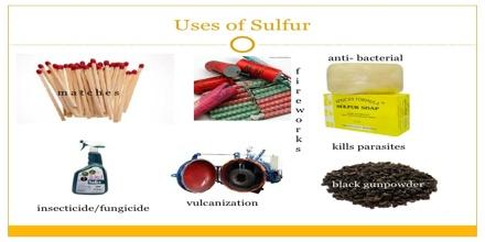 Uses Of Sulfur