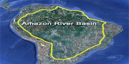 Amazon River Assignment Point - Where is the amazon river