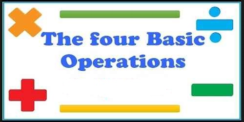 Four Basic Operations of Mathematics