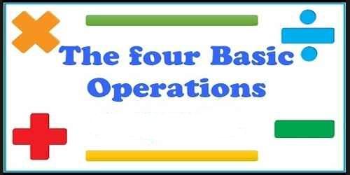 Four Basic Operations of Mathematics