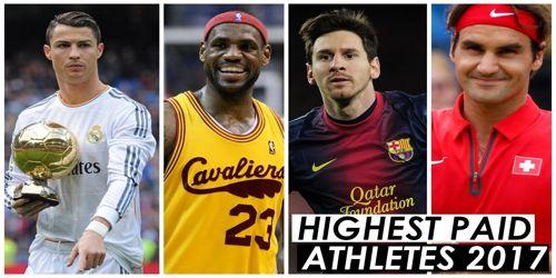 World's Highest Earnings Athletes in 2017