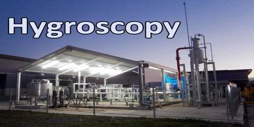 Hygroscopy