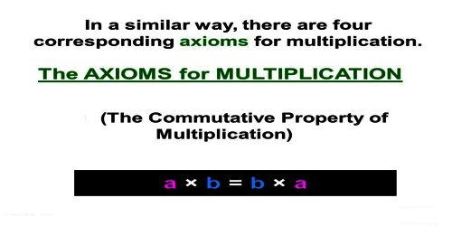 Multiplicative Axiom