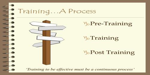 Basic Training Process in International Projects