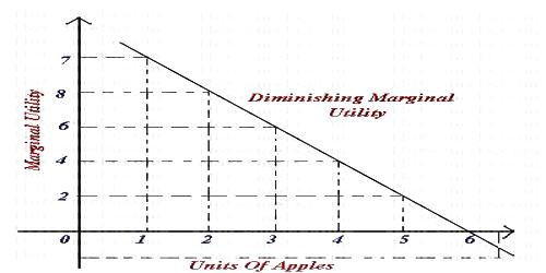 Concept of the Law of Diminishing Marginal Utility