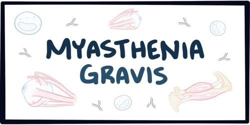 myasthenia gravis research paper Pubmed comprises more than 26 million citations for biomedical literature from medline, life science journals, and online books citations may include links to full.