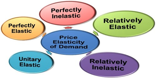 Types Of Price Elasticity Of Demand Assignment Point