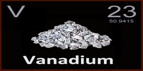 vanadium assignment point