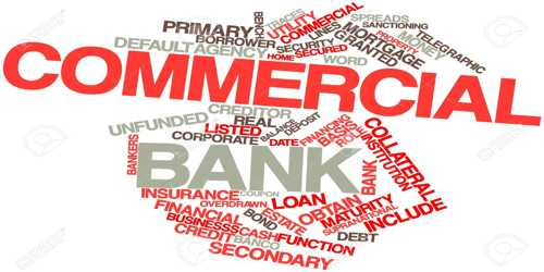 Define Commercial Bank with Types