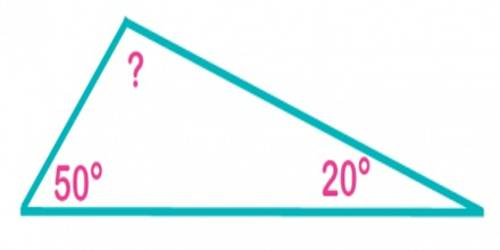 Finding the Third Angle of a Triangle