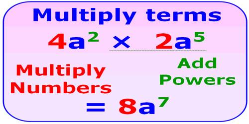 Powers of Multiplication or Exponents