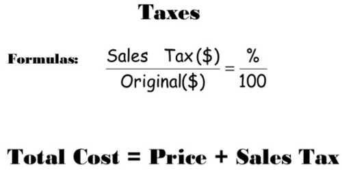 Total Price with Sales Tax