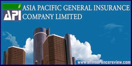 Annual Report 2015 of Asia Pacific General Insurance Company Limited