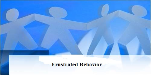 Dissimilar Variety of Frustrated Behavior